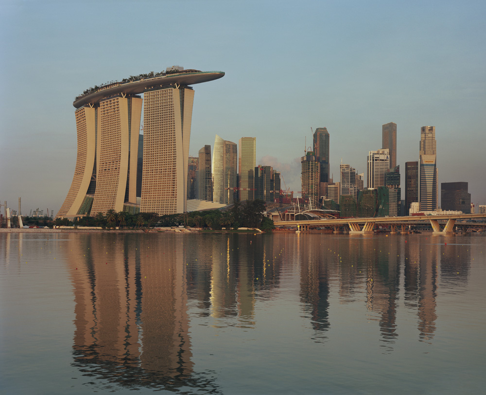 Architecture photography singapore hotel marina bay for Tallest hotel in singapore