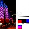 dexia-towers-light-up-with-LEDs-to-show-weather dexia-towers-light-up-with-LEDs-to-show-weather