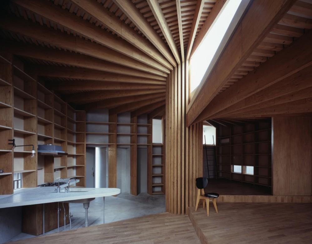 Wooden - Tree House - Mount Fuji Architects Studio © Ken'ichi Suzuki