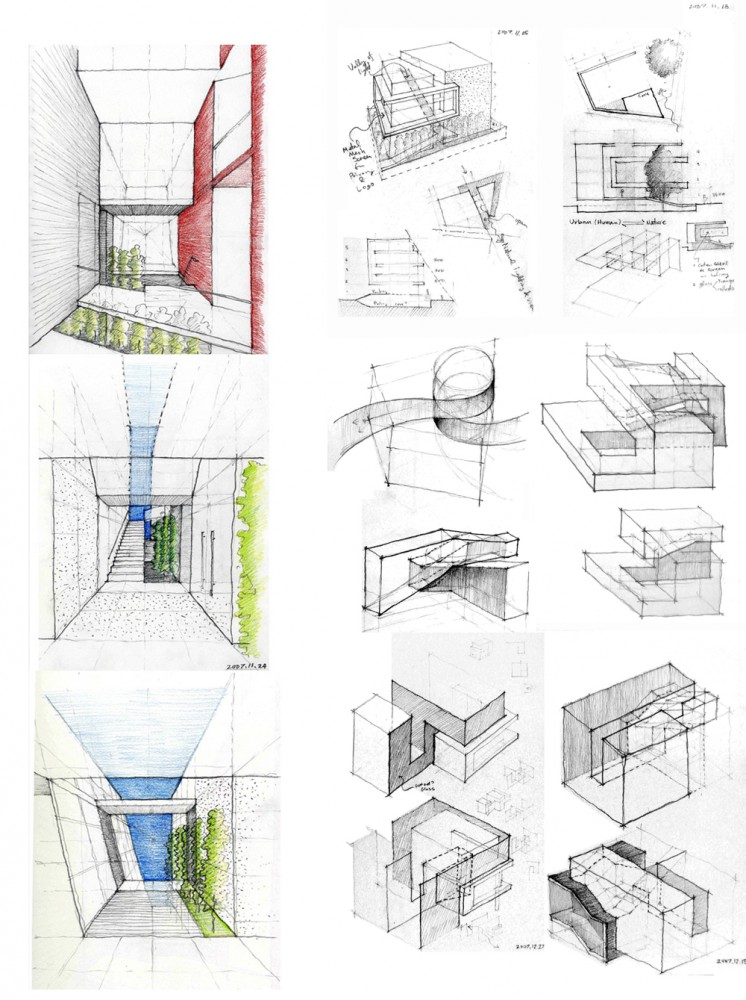 Architecture photography concept sketches 70467 for What is design concept in architecture