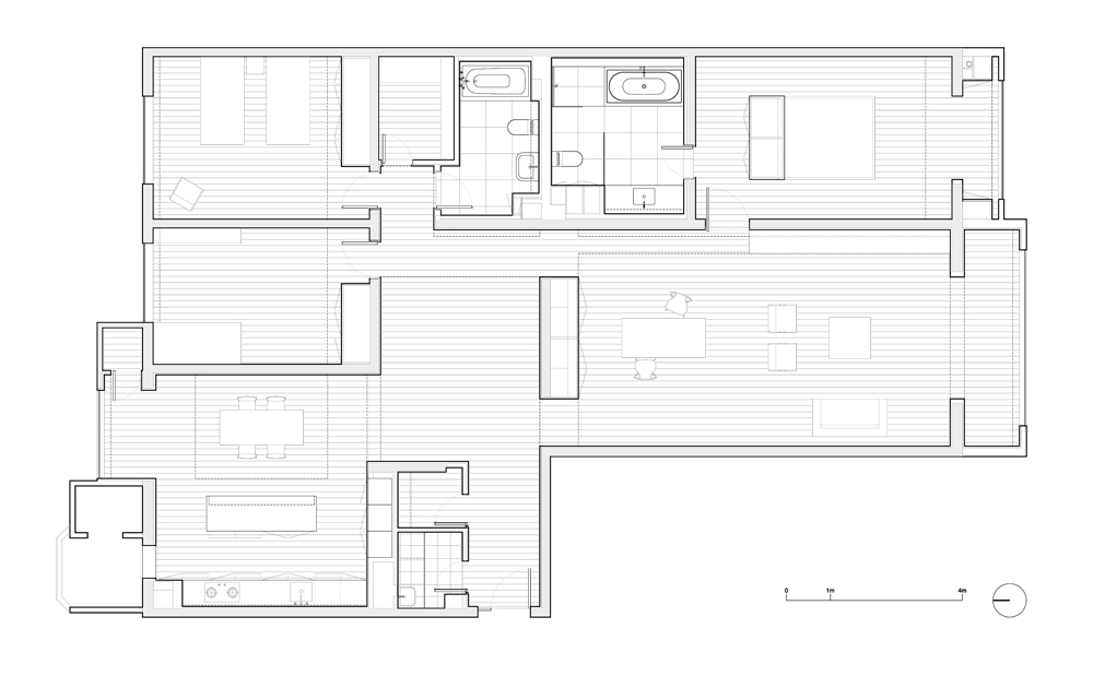 Apartment 3E / Vector Architects