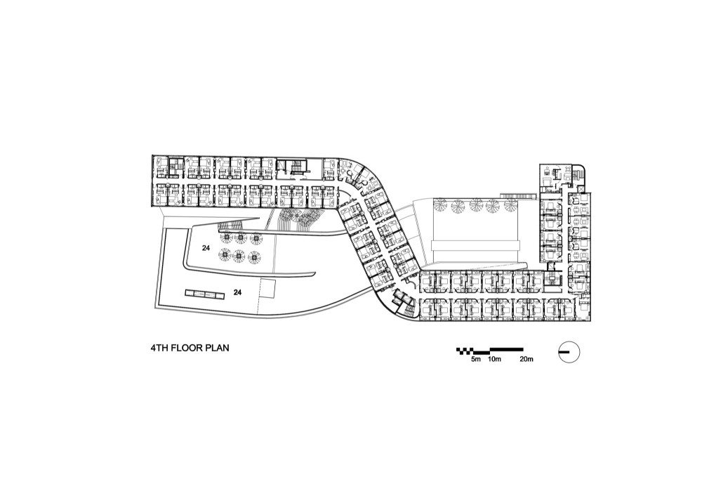 Architecture Photography Fourth Floor Plan 70798