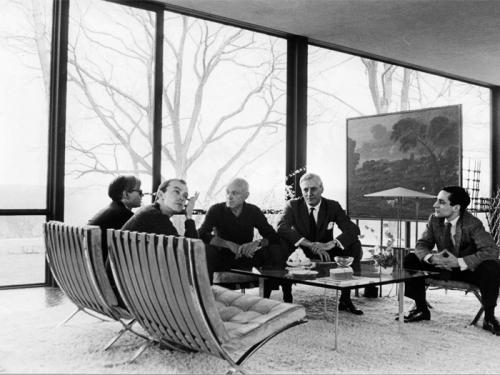 Continuing the Conversation / The Glass House / Philip Johnson