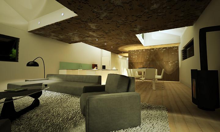 House in Mormont - PIQUE © Courtesy of PIQUE