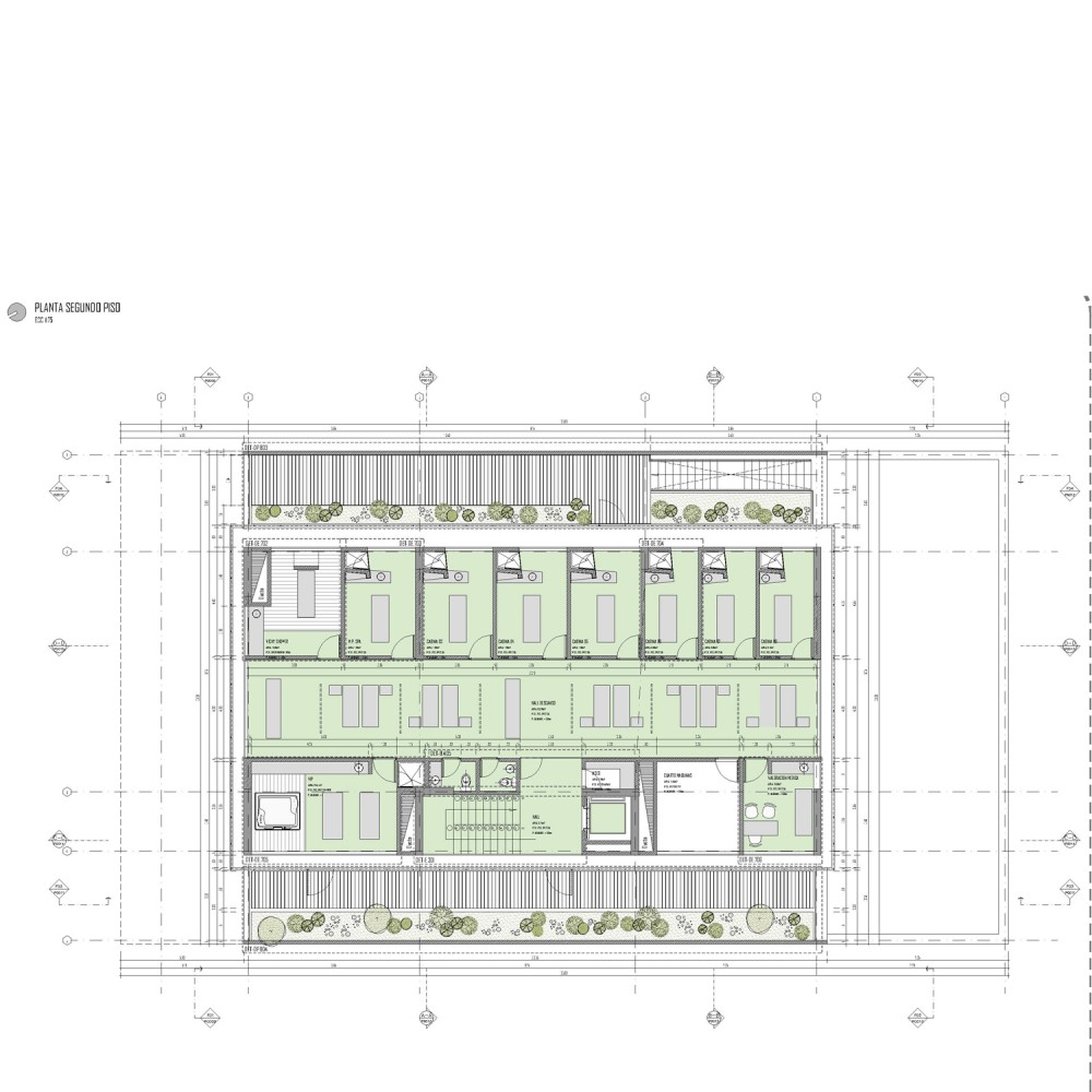 architecture photography second floor plan 72299
