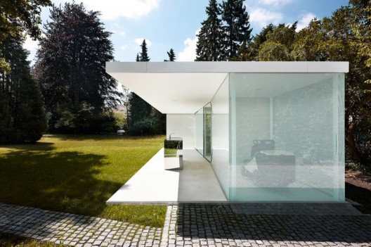 Poolhouse philipp baumhauer archdaily - Poolhaus deutschland ...