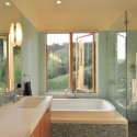 House - Mill Valley Hillside - McGlashan Architecture  Courtesy of McGlashan Architecture