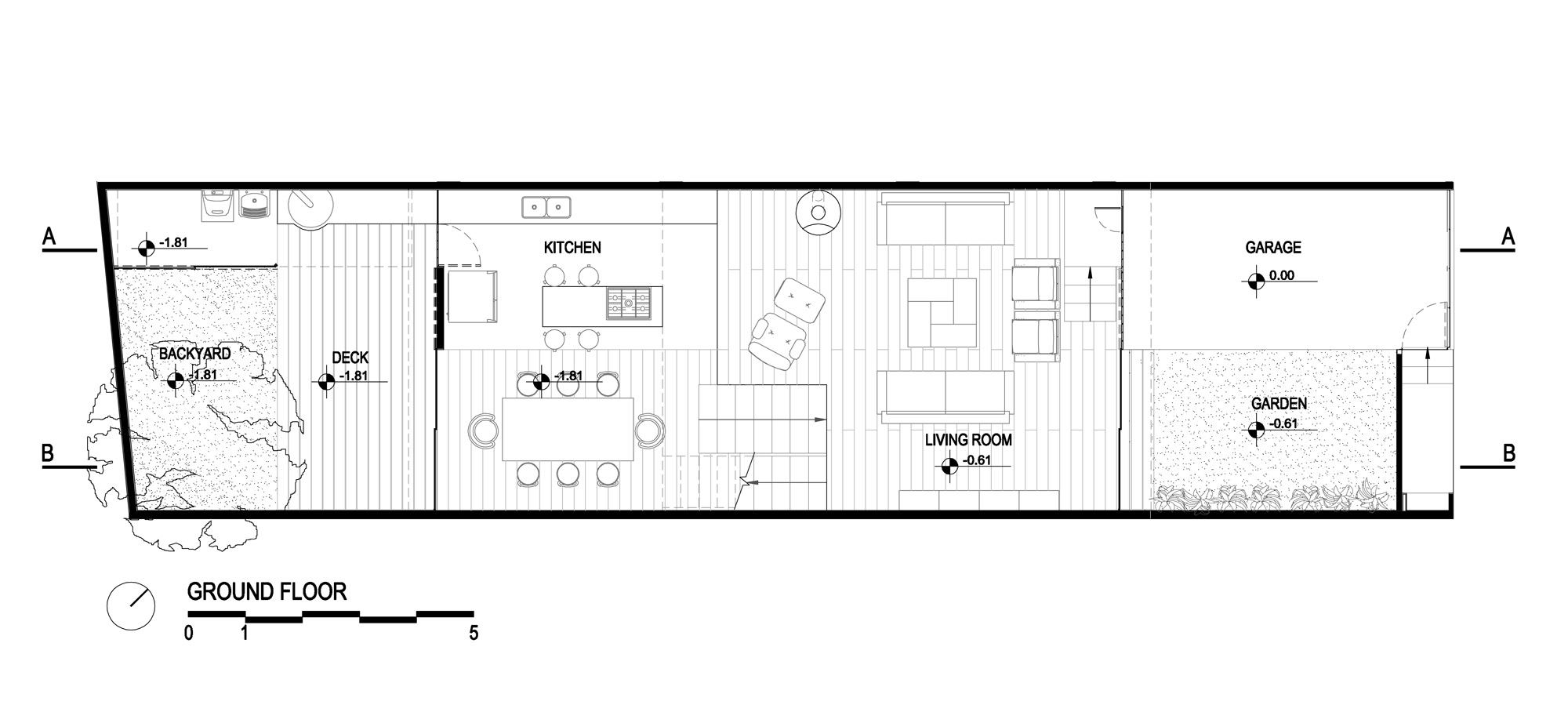 Architecture photography ground floor plan 73204 Ground floor house plan