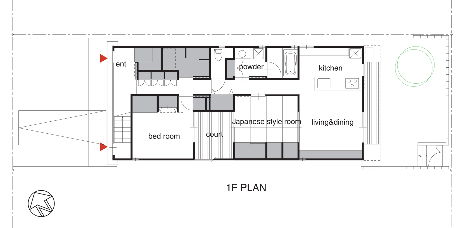 Architecture Photography Ground Floor Plan 74601