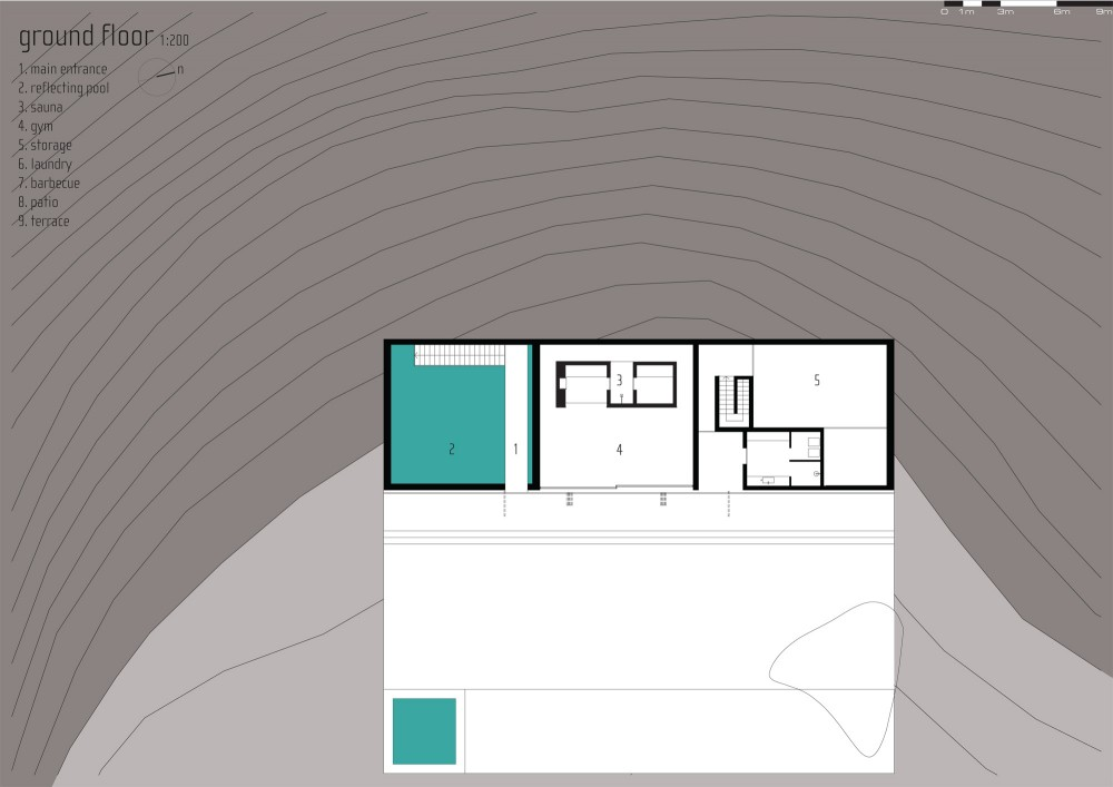 Architecture Photography Ground Floor Plan 74969