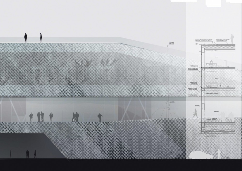 New terminal for Stockholm / C. F. Møller Architects