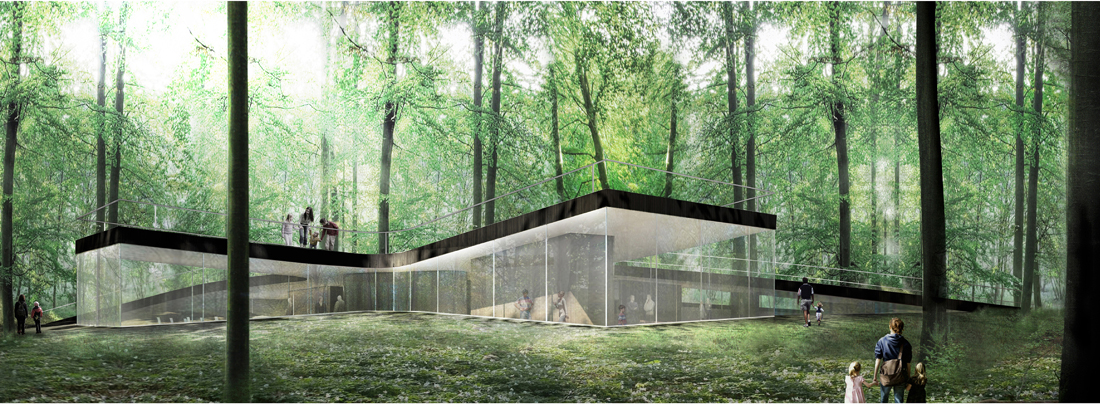 Nature centre effekt archdaily for Architecture et nature