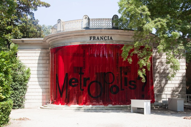 French Pavilion at the Venice Biennale