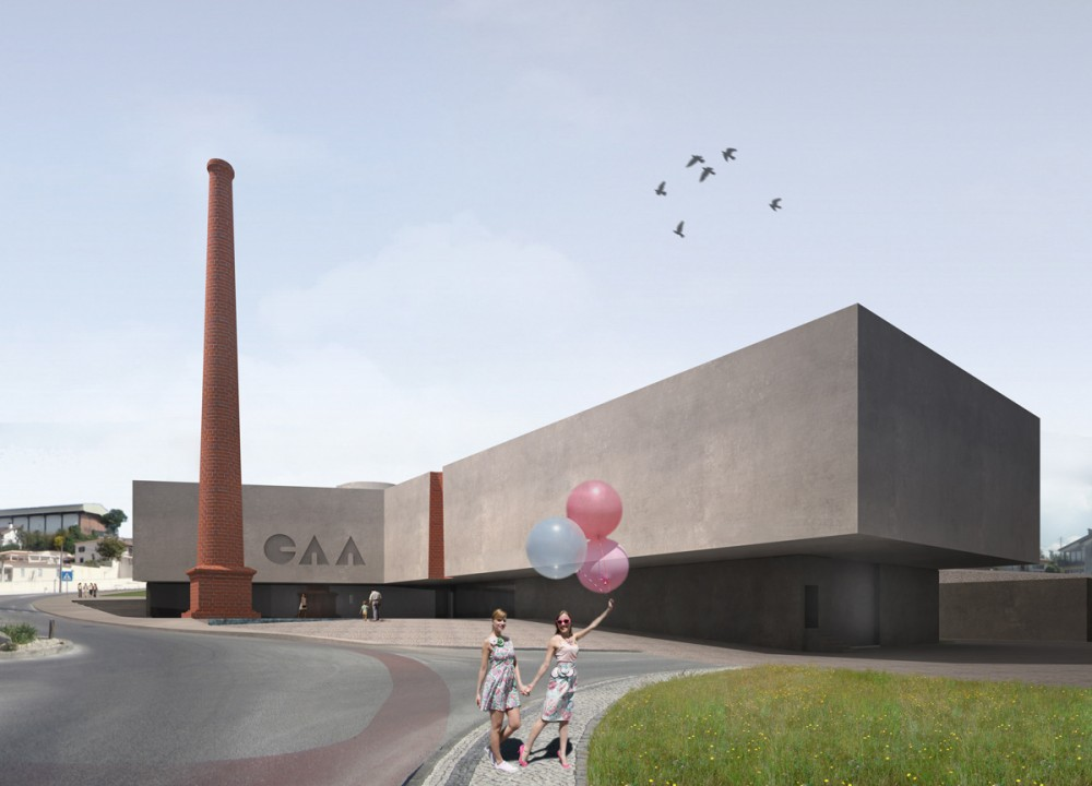 CAA Águeda Arts Center / AND-RÉ