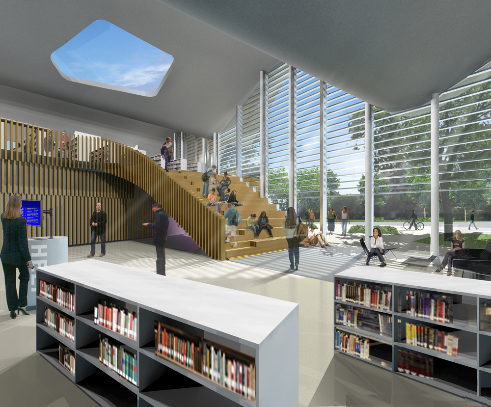 Jasper Place Branch Library Hcma Archdaily