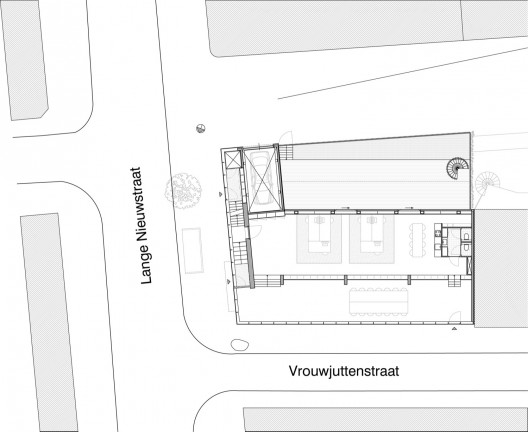 Stahl House Site Plan