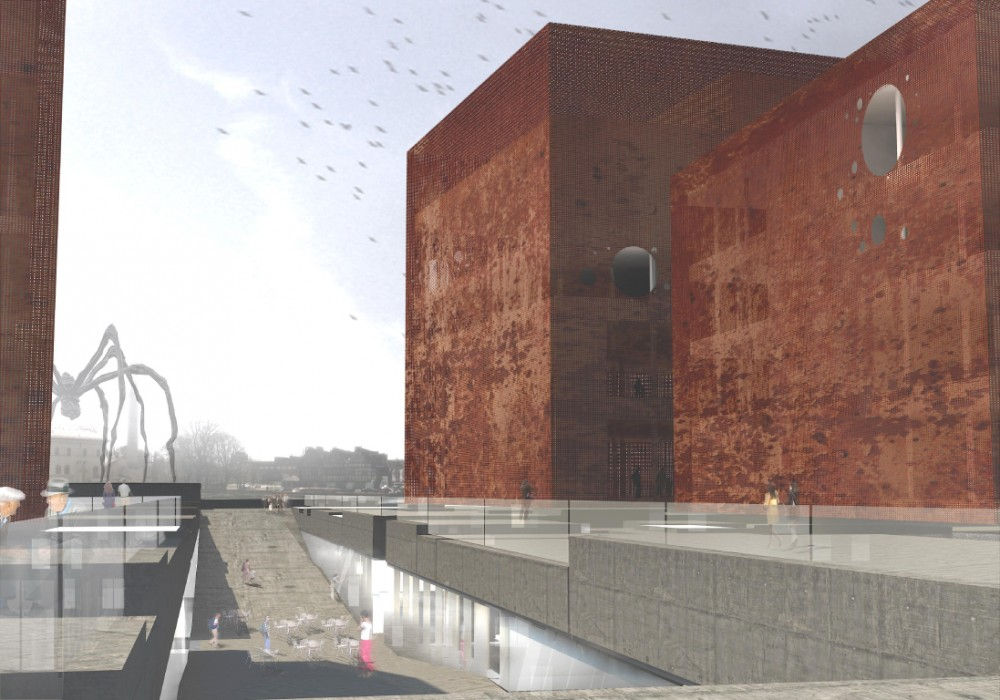 Museum of WWII in Gdańsk Competition proposal / Brochet Lajus Pueyo