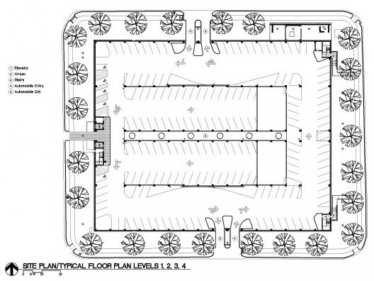 Car Park One Elliott Associates Architects Archdaily