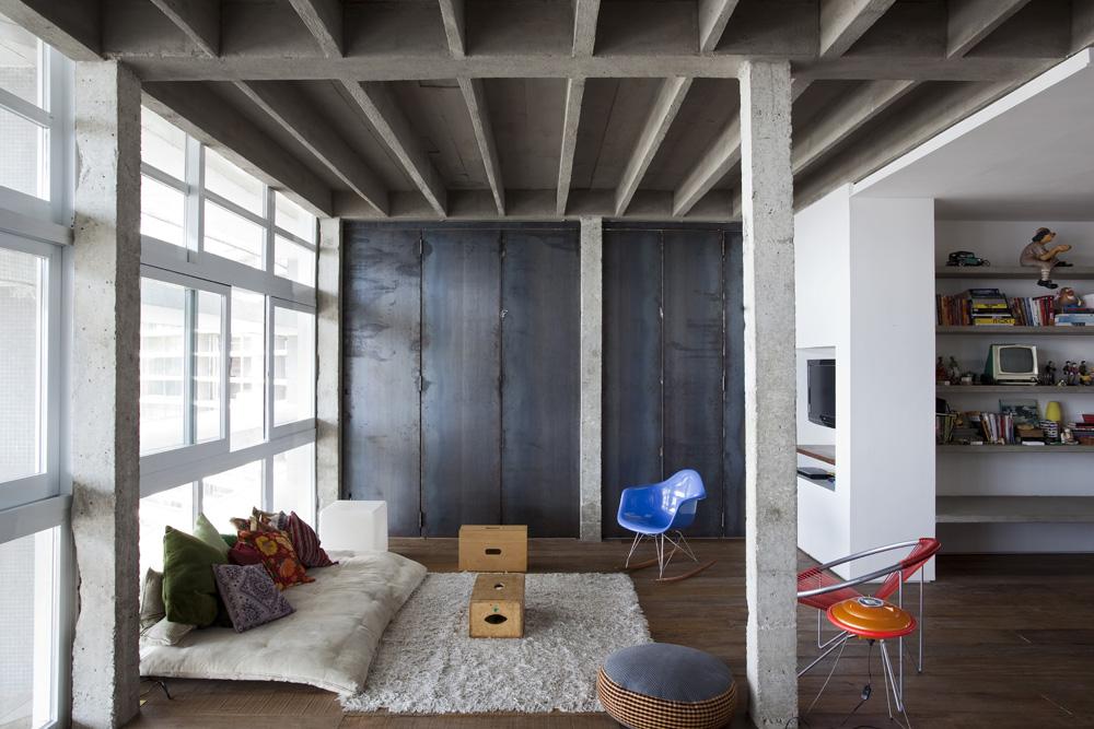 Copan Apartment - Felipe Hess - Renata Pedrosa © Fran Parente