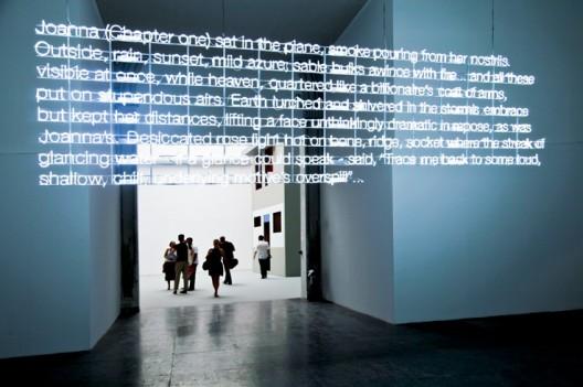 Neon2 Neon Installation by Cerith Wyn Evans - © Patricia Parinejad