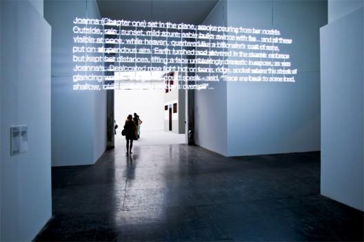 Neon3 Neon Installation by Cerith Wyn Evans - © Patricia Parinejad