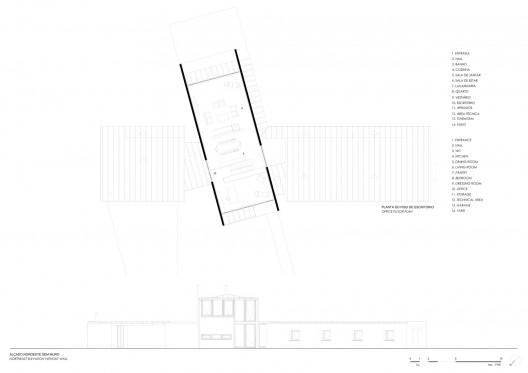 2nd Floor Elevation Design : House in madalena castanheira bastai arquitectos