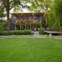 House in the Garden - Cunningham Architects © James F. Wilson