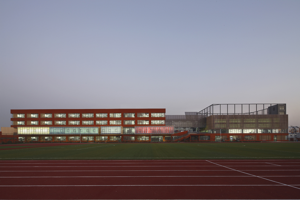 Tianjin Elementary School / Vector Architects + CCDI