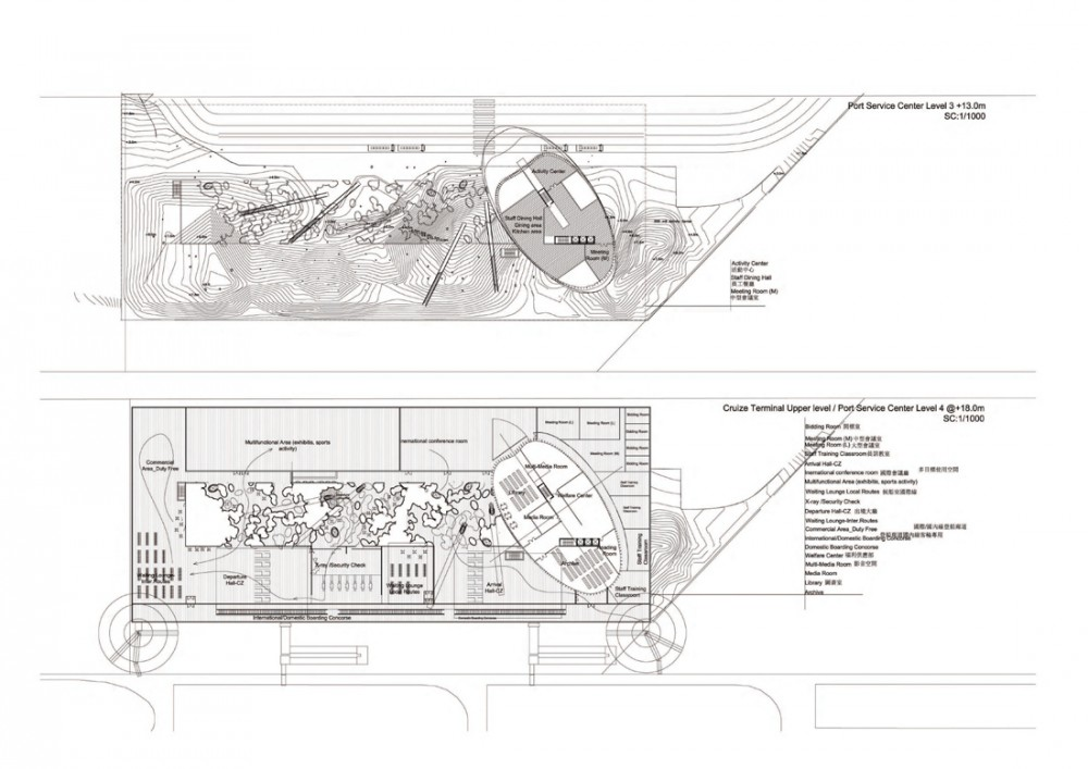 Kaohsiung Port and Cruise Service Center International Competition proposal / Ja StudioInc + Tadj –Farzin studio