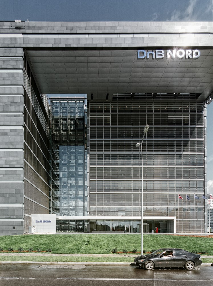 DnB NORD Office Building / Audrius Ambrasas Architects