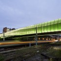 New Bridge in Choisy - Jacques Ferrier Architectures © Jacques Ferrier Architectures / photo Luc Boegly