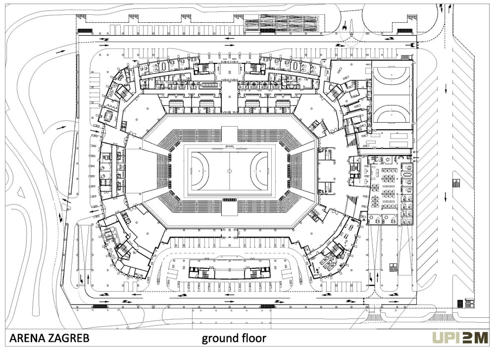 Architecture Photography Ground Floor Plan 80595