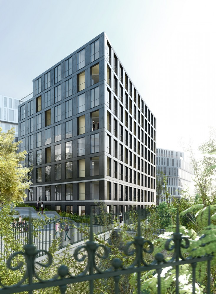 40 Housing Units / LAN Architecture