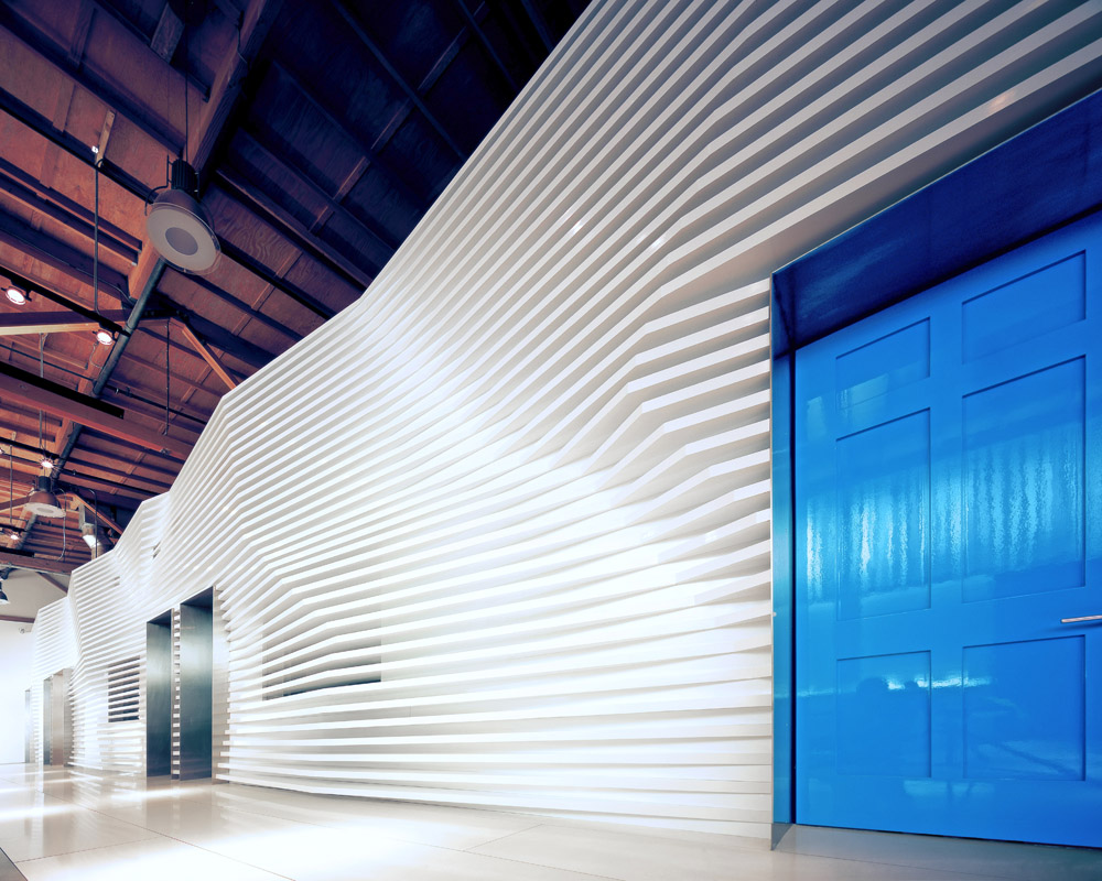 CaesarStone Showroom - Dan Brunn © Dan Brunn