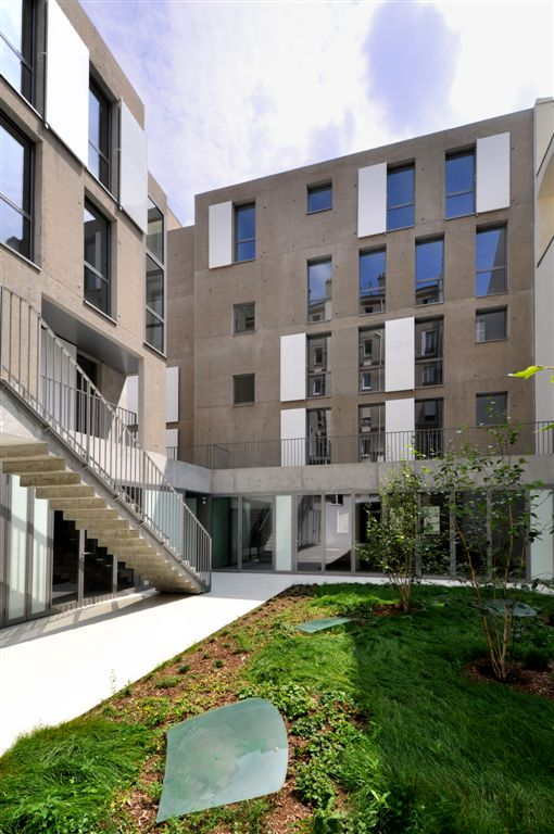 Social Housing in Paris / Frdric Schlachet Architecte