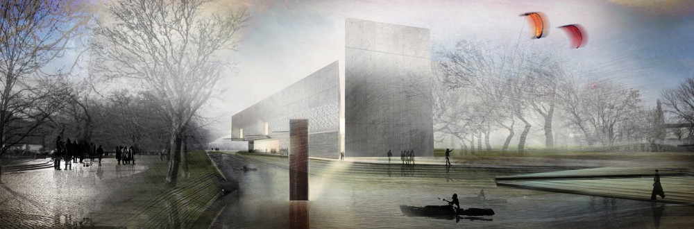 Museum of WWII in Gdańsk Competition proposal / A4 Studio