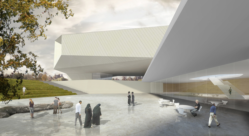 Museum of Tolerance in Jerusalem / Chyutin Architects