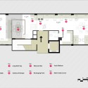 Thin Office / Studio SKLIM Plan