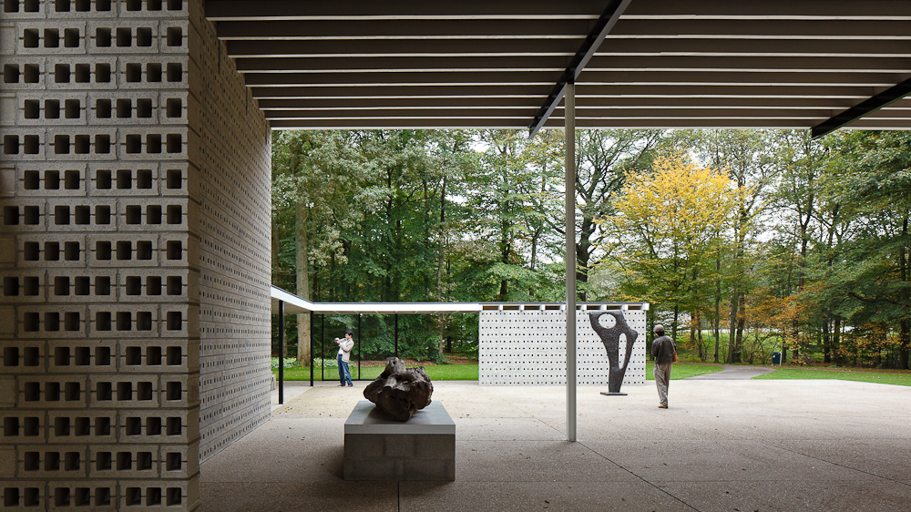 Rietveld Pavilion at the Krller-Mller Sculpture Garden