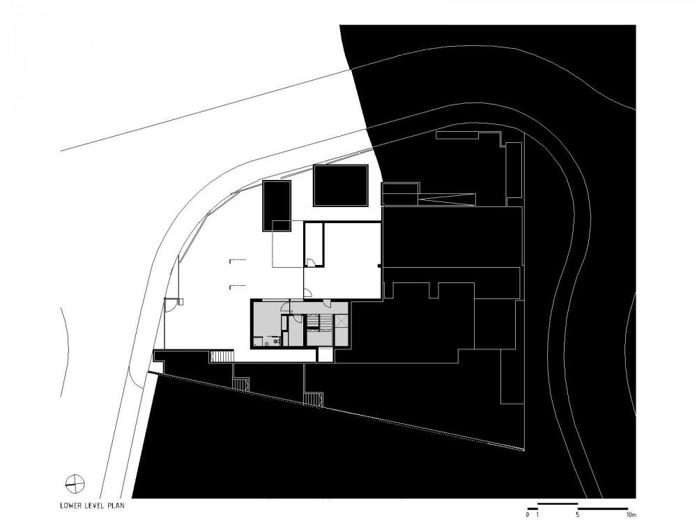 lower level plan lower level plan