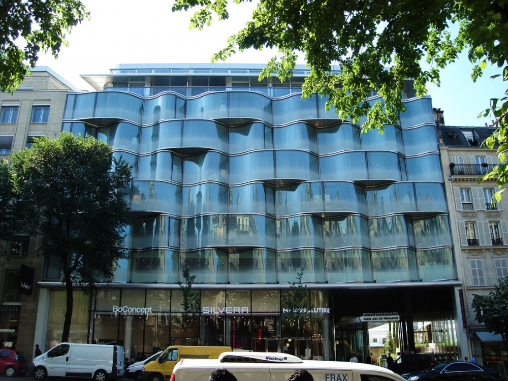 Renaissance Marriot Hotel in Paris / Atelier Christian de Portzamparc