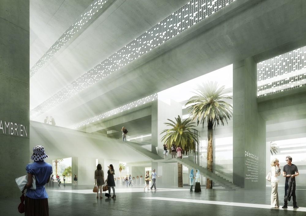 Architecture Photography Archi5 Rabat Museum Inside 82009