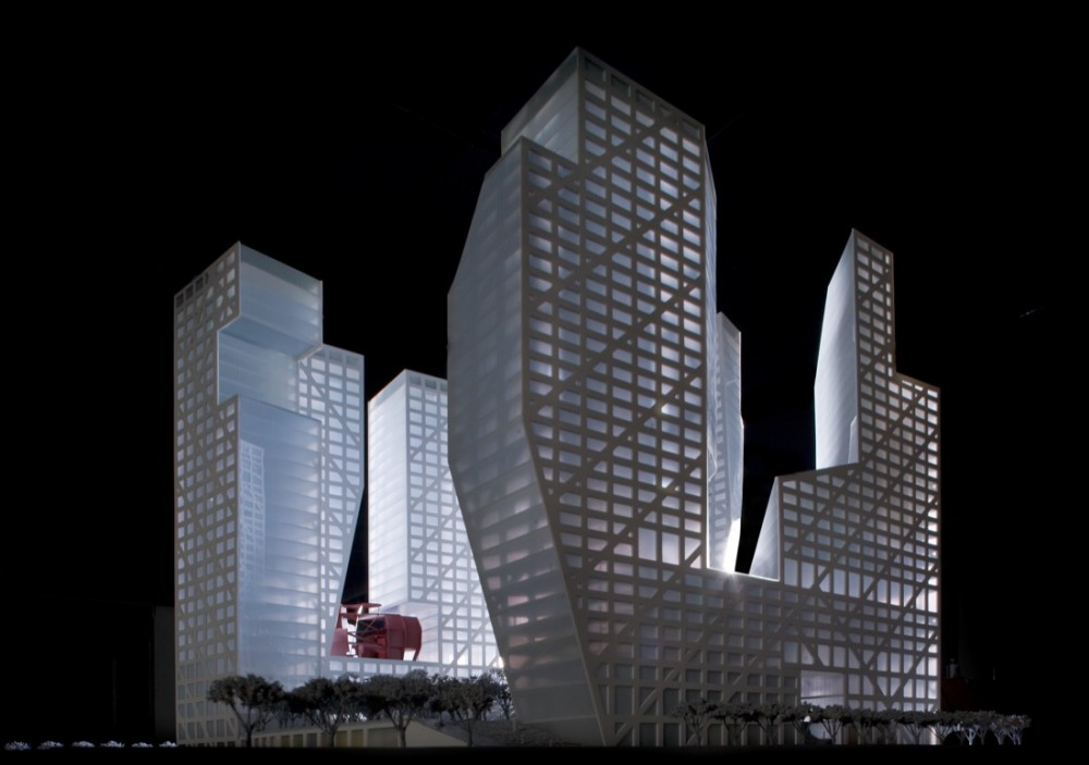 In Progress: Sliced Porosity Block / Steven Holl Architects