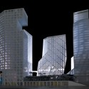 Sliced Porosity Block / Steven Holl Architects © Iwan Baan