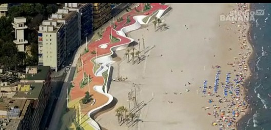 Video: Benidorm West Beach Promenade / OAB