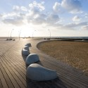 Tel Aviv Port Public Space Regeneration Project - Mayslits Kassif Architects © Iwan Baan