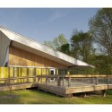 Walnut Creek Wetland Center / Frank Harmon Architect © Courtesy of Frank Harmon Architect