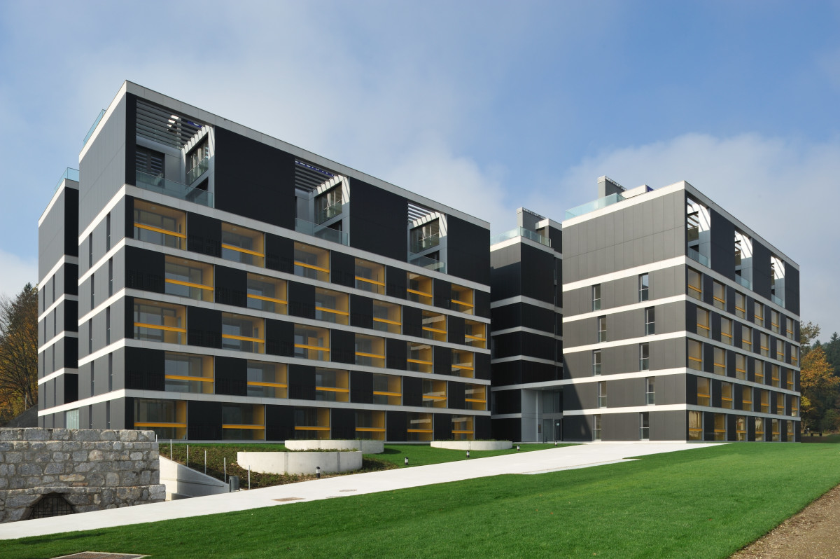 Http Www Archdaily Com 85277 Housing Pilon Bevk Perovic Arhitekti Bevk Perovic Pilon Appartments Ljubljana Slo