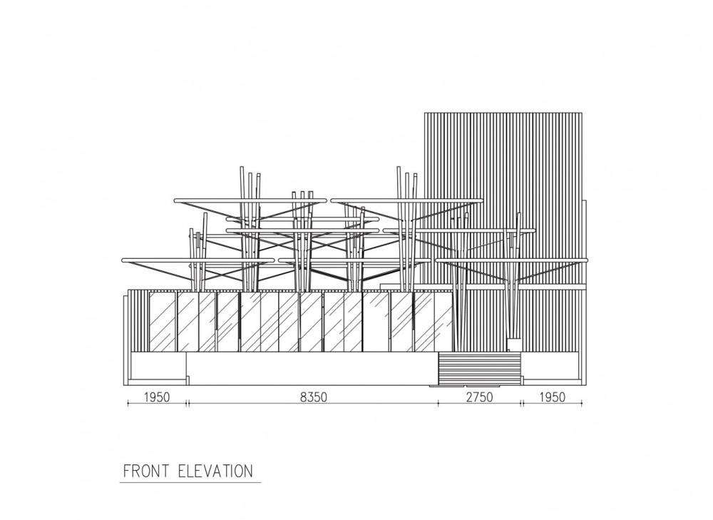 Restaurant Front Elevation Design : Front elevation of restaurant joy studio design gallery