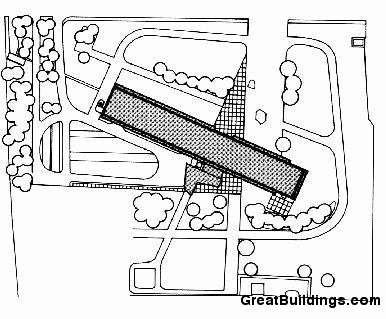 Architecture photography un d habit site plan 85992 - Unite d habitation dimensions ...